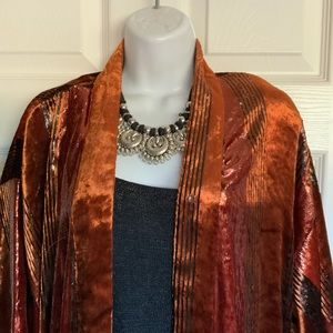 Looks new...ANTHROPOLOGIE boho duster